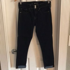 Express cropped jeggings size 0R